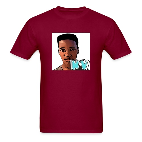 KevinsVids Face Logo - Men's T-Shirt