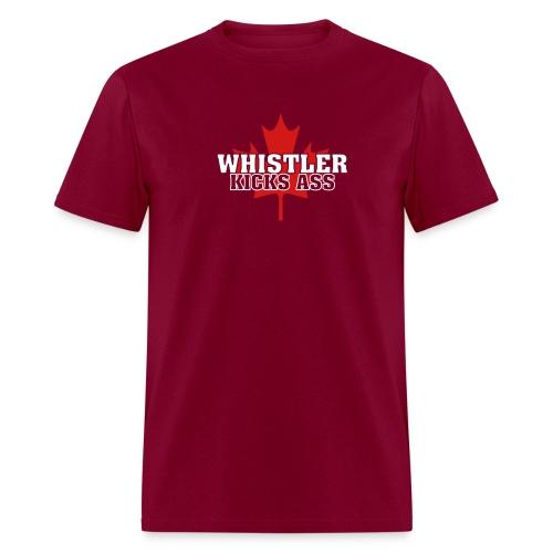 Whistler Kicks Ass 2 - Men's T-Shirt