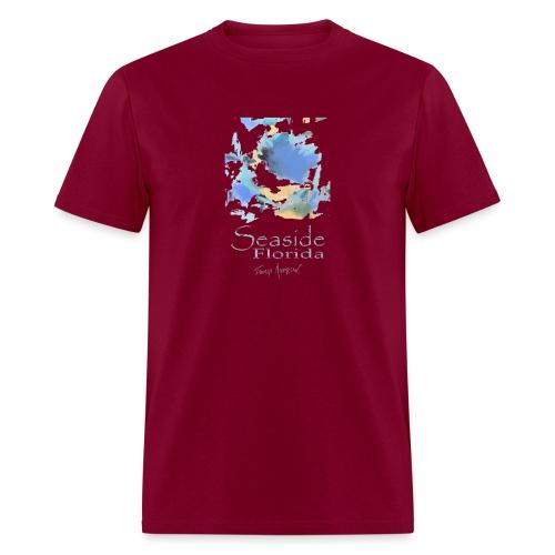 Seaside Shirt Design 5 no border - Men's T-Shirt