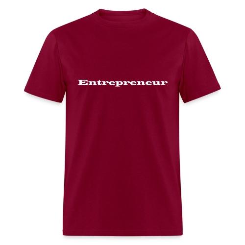 entrepreneur Black - Men's T-Shirt