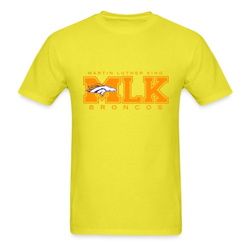 MLKBroncos - Men's T-Shirt