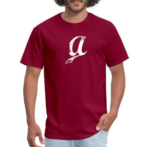 Already & Sleepy Logo White - Men's T-Shirt