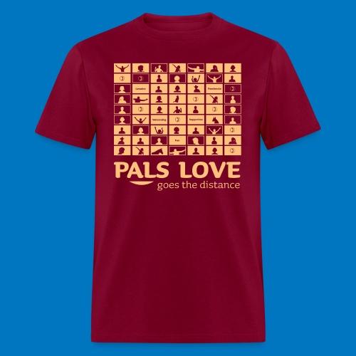 PALS Love Goes The Distance: Summer 2020 Apparel - Men's T-Shirt