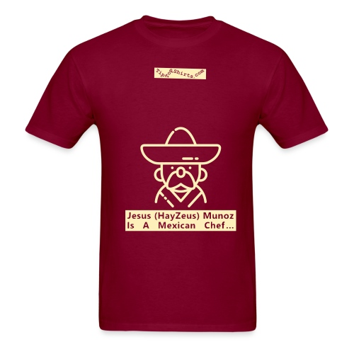 Mexican-Chef-Shirt-Front - Men's T-Shirt