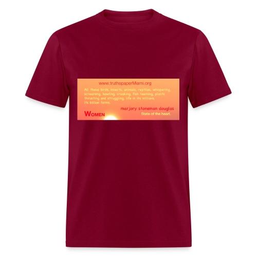 Everglades River of Grass - Men's T-Shirt