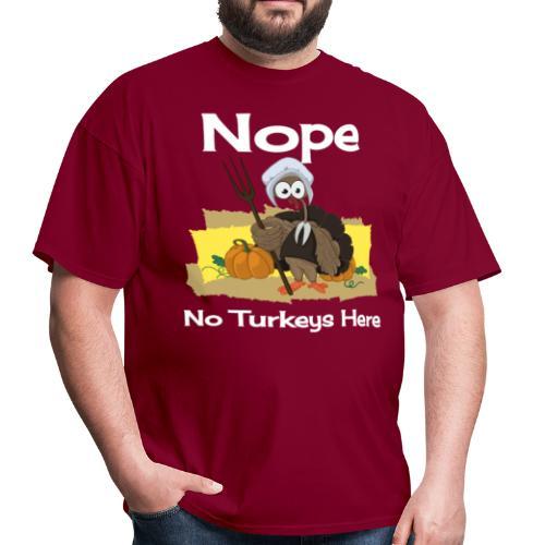 Funny Thanksgiving Turkey Novelty Gift T-Shirt - Men's T-Shirt
