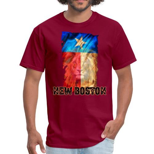 New Boston Texas Flag 2 - Men's T-Shirt