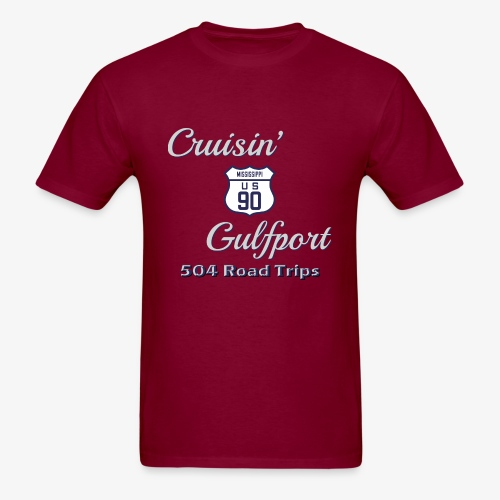 Cruisin Gulfport US90 - Men's T-Shirt