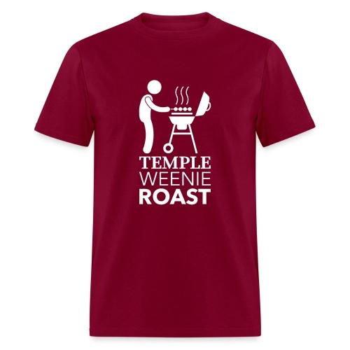 Temple Weenie Roast - Men's T-Shirt