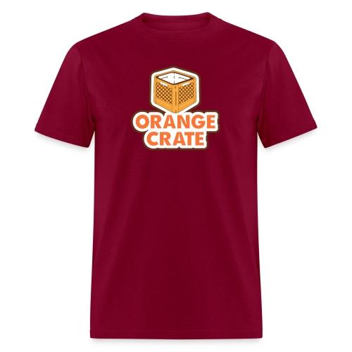 Logo Vertical Clear - Men's T-Shirt