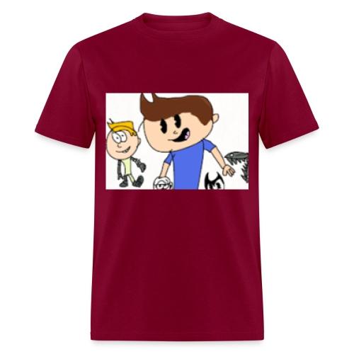 The MichaelKidsTV Old School Logo! - Men's T-Shirt