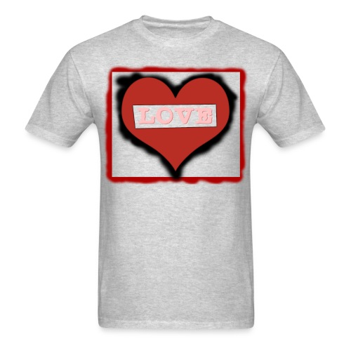 Love T shirt Digital Version png - Men's T-Shirt