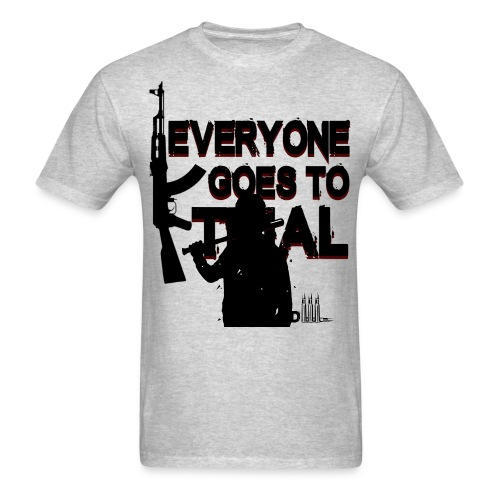 Everyone goes to trial - Men's T-Shirt
