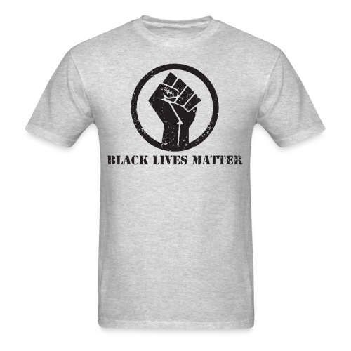 Black Lives Matter Power - Men's T-Shirt