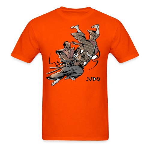 Judo Design Uki Otoshi Throw - Men's T-Shirt