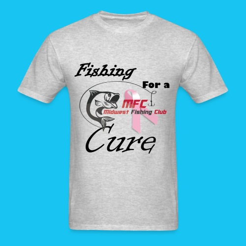 mfc blackredcancershirt - Men's T-Shirt