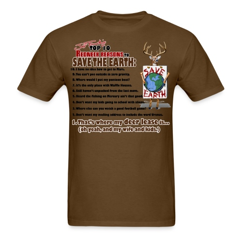 top ten save earth - Men's T-Shirt