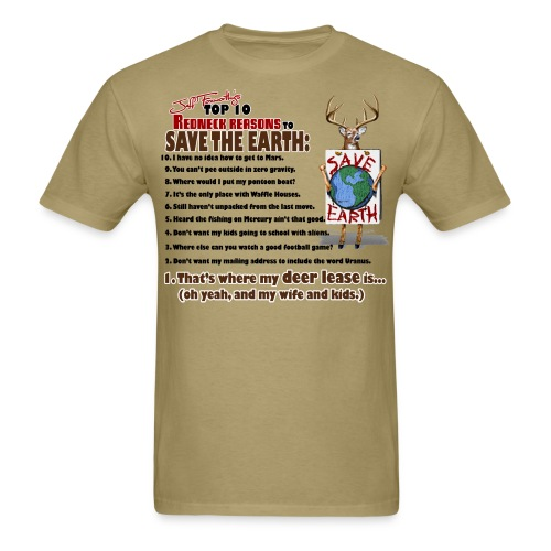 top ten save earth - Men's T-Shirt
