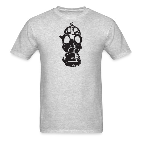 Gas Mask (Mello Jr.) - Men's T-Shirt