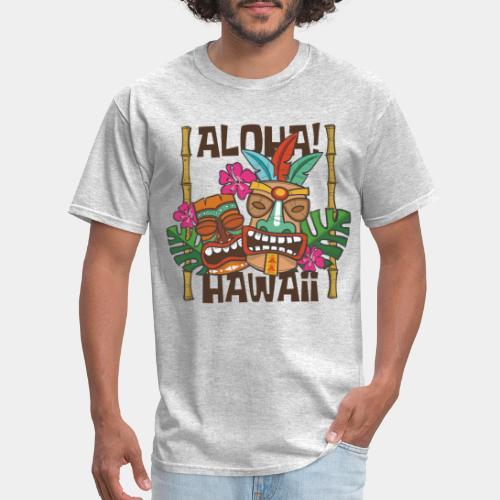 aloha hawaii - Men's T-Shirt
