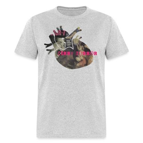 Curry Horror heart - Men's T-Shirt
