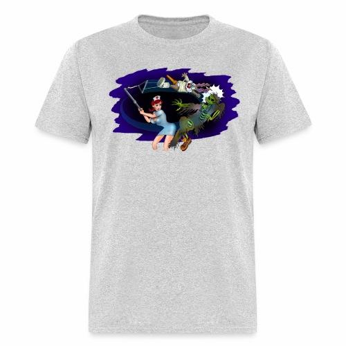 Nurse Zombie Fight - Men's T-Shirt