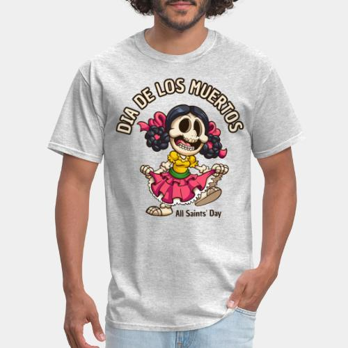 dia de los muertos - Men's T-Shirt