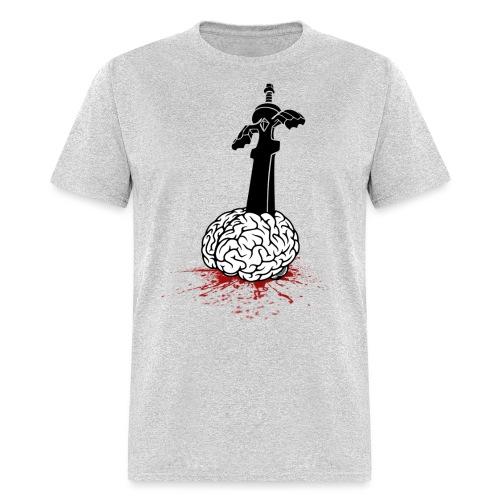 Sword in Brain - Men's T-Shirt