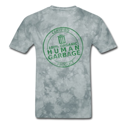 100% Human Garbage - Men's T-Shirt