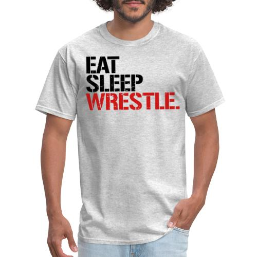 Eat Sleep Wrestle - Men's T-Shirt