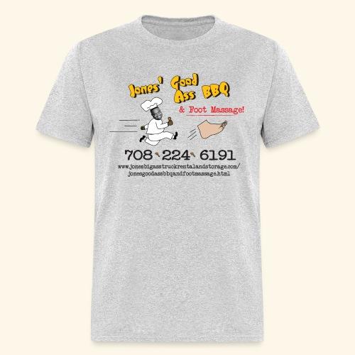 Jones Good Ass BBQ and Foot Massage logo - Men's T-Shirt