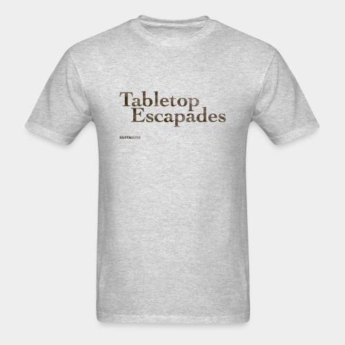 Tabletop Escapades Logo - Men's T-Shirt