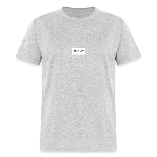 whats up - Men's T-Shirt