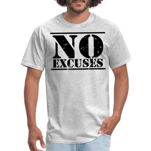No Excuses training - Men's T-Shirt