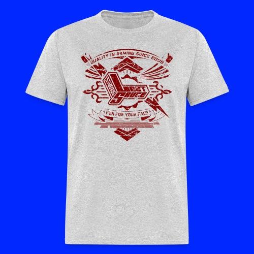 Vintage Leet Sauce Studios Crest Red - Men's T-Shirt