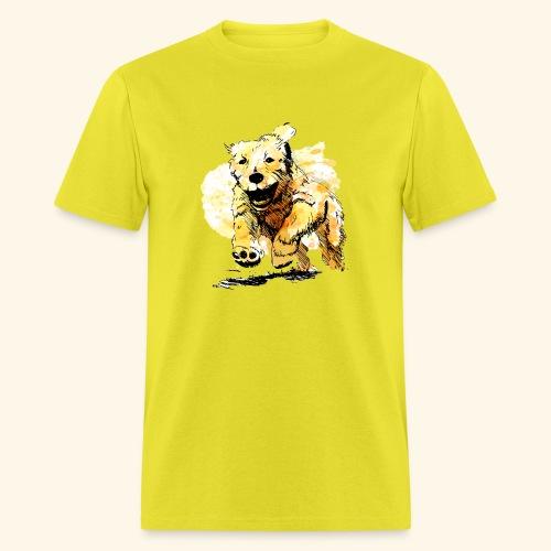 oil dog - Men's T-Shirt