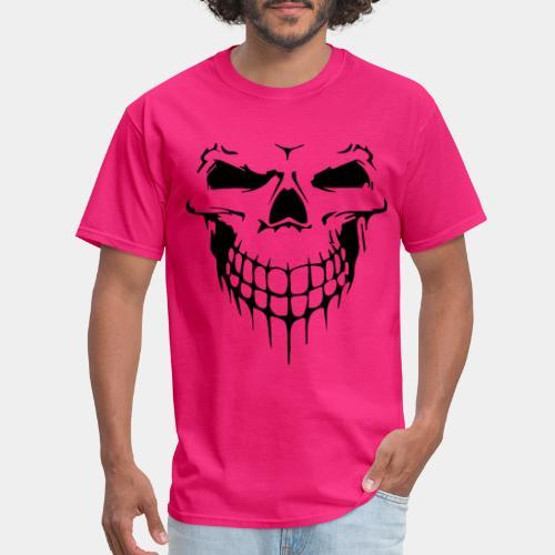 skull rock metal face - Men's T-Shirt