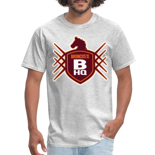 BroncosHQ Badge Logo - Men's T-Shirt