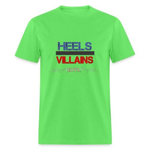 Eyes on the Ring Heels/Villains - Men's T-Shirt