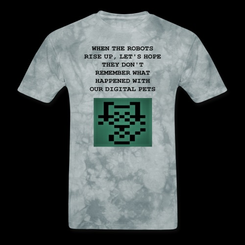 Funny Digital Pet Graphic - Men's T-Shirt