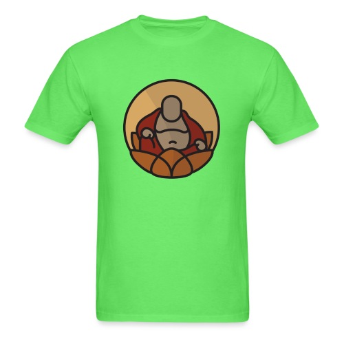 AMERICAN BUDDHA CO. COLOR - Men's T-Shirt