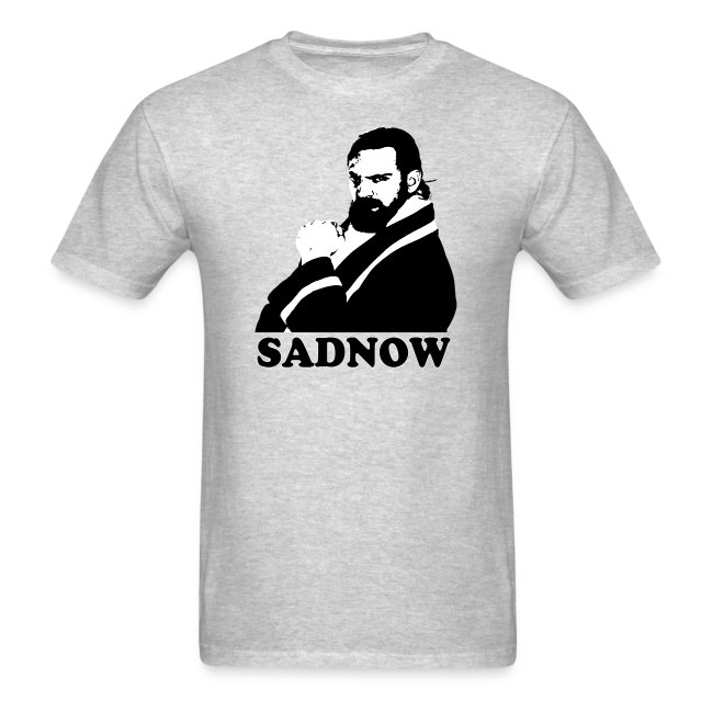 MEGAPOWERS RADIO SADNOW MENS TSHIRT