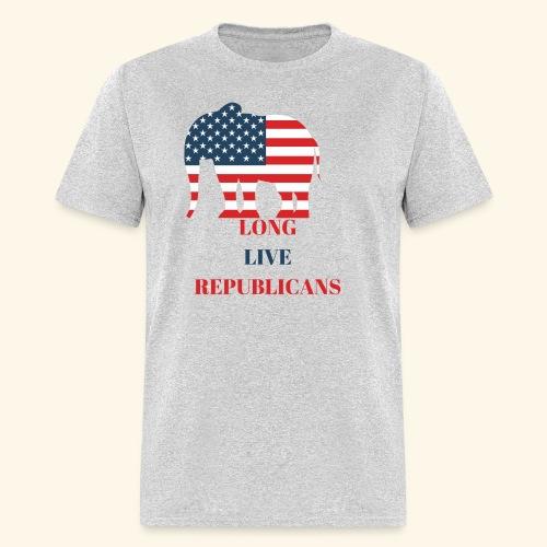 LONG LIVE REPUBLICANS - Men's T-Shirt