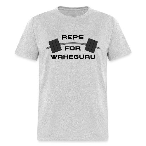 REPS FOR WAHEGURU - Men's T-Shirt