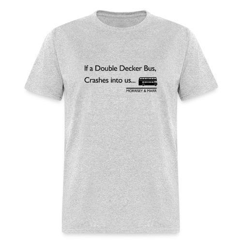 Double Decker Bus - Men's T-Shirt