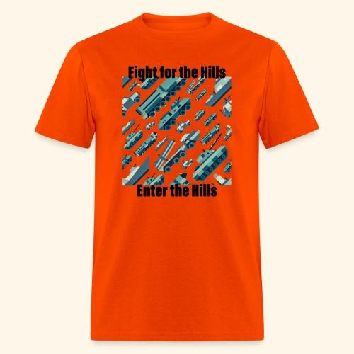 Fight or Enter - Men's T-Shirt