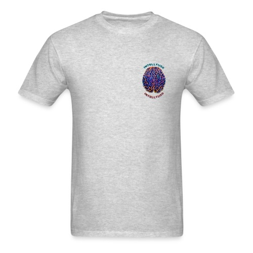 IntellTuss Shirt (pocket design) - Men's T-Shirt