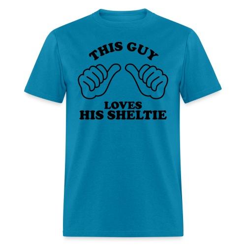 Two Thumbs Guy Sheltie - Men's T-Shirt