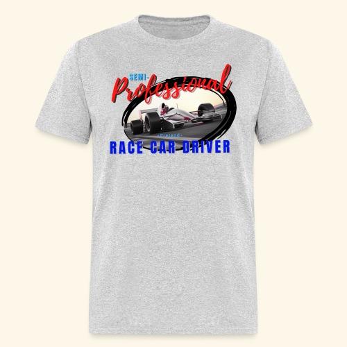 semi pro indy pretend race car driver - Men's T-Shirt