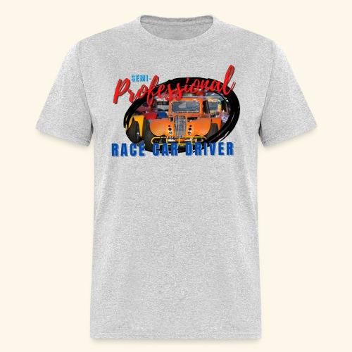semi professional legends pretend race car driver - Men's T-Shirt